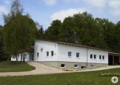 Bild des Schützenhauses in Steinhilben