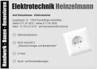 Logo elektroetchnik Heinzelmann