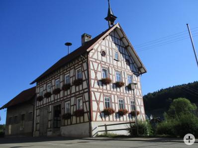 Rathaus in Hausen an der Lauchert